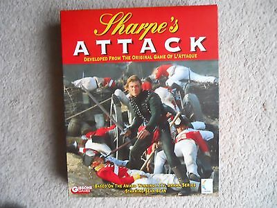"""Gibsons Games """"Sharpe's Attack"""" Strategy Board Game COMPLETE AND CHECKED"""