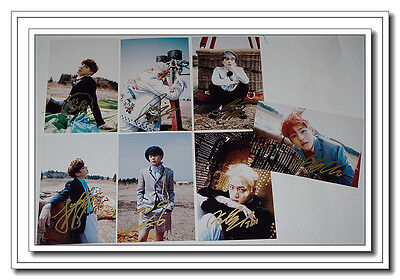 Signed BTS Bangtan Boys in-album Young Forever Photo Hand Autograph Authentic