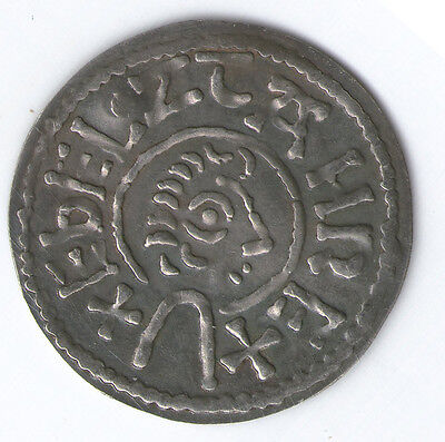 (23) King Aethelstan I (825-845) Bust Right Type Penny Sterling silver Souvenir