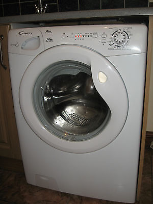 candy 6kg 1200 rpm  used  Washing Machine