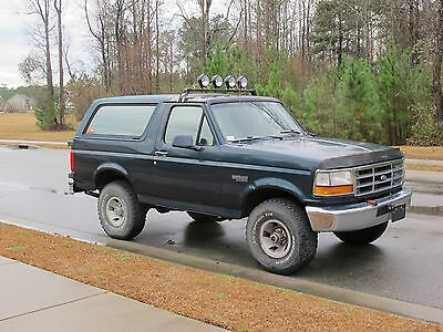 1995 Ford Bronco Great Condition Ford Bronco