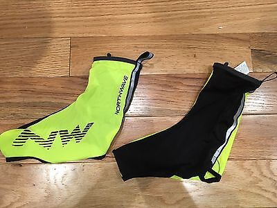 Northwave Shoe Cover Yellow/Black Cycling