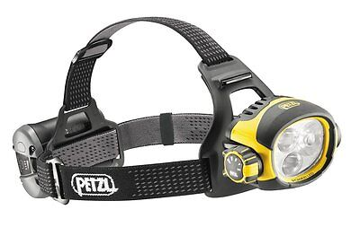PETZL ULTRA VARIO E54 HUK Ultra Powerful Headtorch With Rechargeable Battery