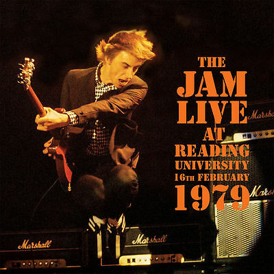 The Jam Live At Reading University Double Vinyl Lp Sealed Weller