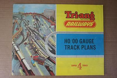 OO Tri-ang Railways Super 4 track plan catalogue