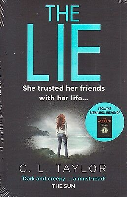 The Lie BRAND NEW BOOK by C. L. Taylor (Paperback, 2015)