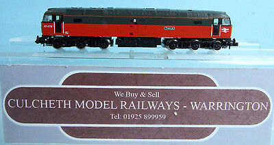 Graham Farish 'n' 8027 R.e.s. Parcels Class 47 Diesel Loco No.47479 Boxed #693Y