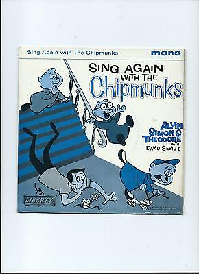 CHIPMUNKS PS EP Sing Again With The Liberty 1960