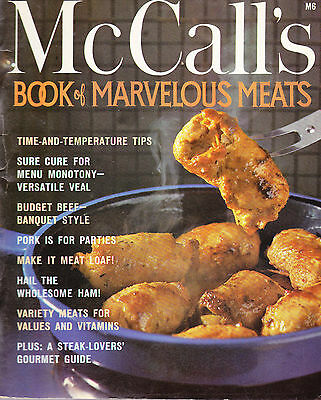 Vintage McCall's Book of marvelous Meats Cookbook