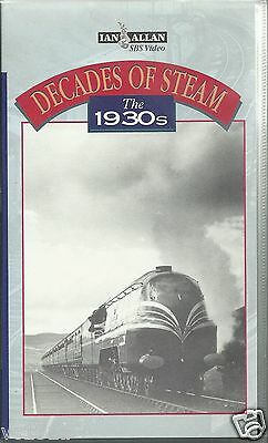 VHS Steam Video - Decades of Steam - The 1930 - Ian Allan video 60 minutes