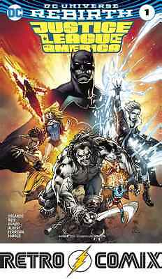 Dc Rebirth Justice League Of America #1 First Print New/unread Bagged & Boarded