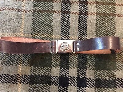 Great Bintage Bukta Leather Scouts Belt