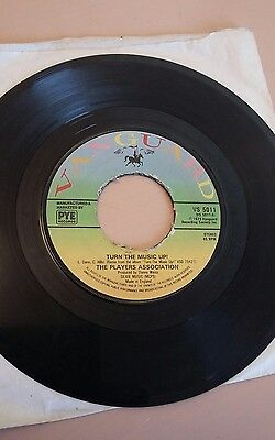 The Players Association Turn The Music Up 7 inch vinyl