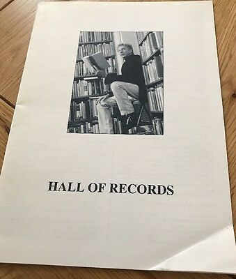 Barry Manilow Hall Of Records Pamphlet