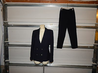US AIR AIRLINES issued uniform blazer & pants navy marked inside usair size 8R