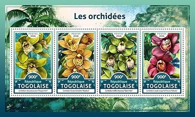 Z08 IMPERFORATED TG16613a TOGO 2016 Orchids MNH ** Postfrisch