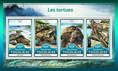 Z08 IMPERFORATED TG16623a TOGO 2016 Turtles MNH ** Postfrisch