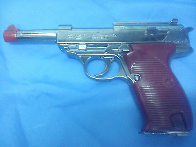 Walther P38 Gas Lighter gun Model lifesize WWII Mauser Toy Bundeswehr pistol