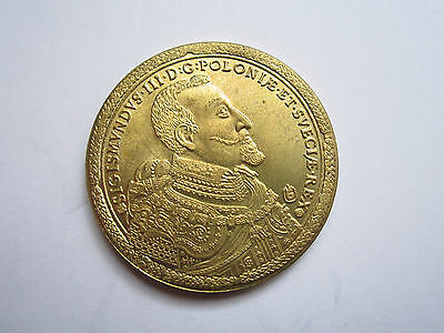 Poland 1621 100 Ducat very rare coin