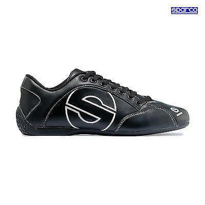 Sparco Esse Shoes Leather Black - 46 (11,5 UK) (12 US)