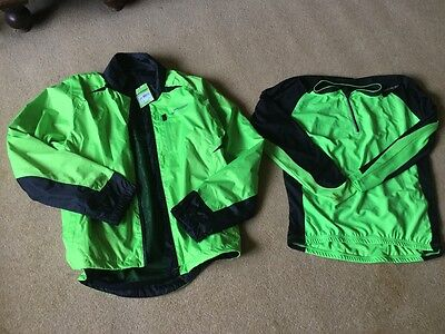 Men's muddy fix cycling jacket and top - large