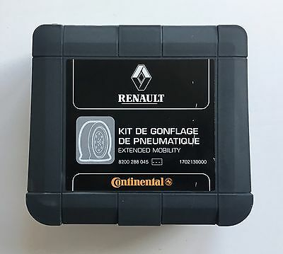Genuine Renault Continental Mobility Tyre Emergency Air Compressor Pump Inflator