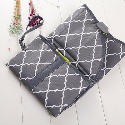 Portable Baby Waterproof Changing Mat Diapers Nappy Bag Convenient For Mum