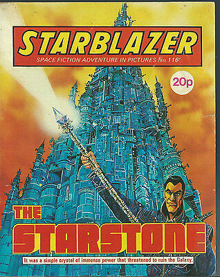 The Starstone,no.116,starblazer Space Fiction Adventure In Pictures,comic