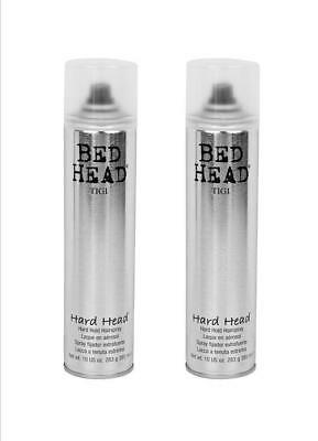 2x Tigi Bed Head HARD HEAD Hairspray Haarspray - 385ml