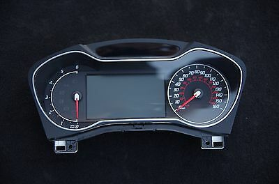 2013 FORD MONDEO MK4 Facelift Diesel Speedo Head Instrument Cluster MPH Convers+