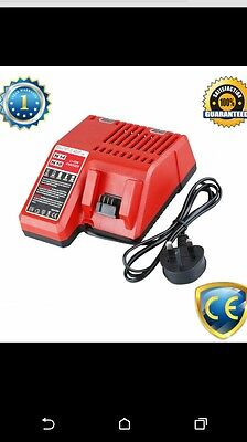 Charger For Milwaukee M18 18v 18volt Lithium-ion (Li-Ion) Cordless Battery