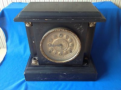antique Sessions Clock company mantle clock for spares or repair
