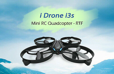 i Drone i3s Mini RC Quadcopter 2MP Camera / Headless Mode / One Key Return