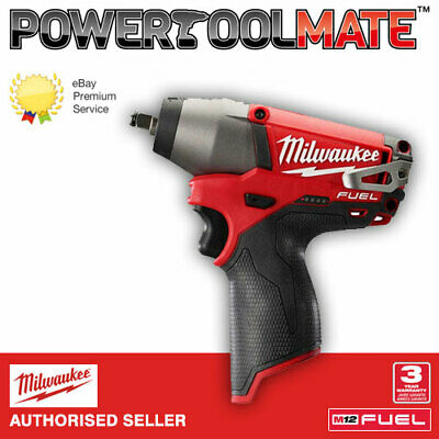 "Milwaukee M12CIW38-0 12V Fuel 3/8"" Impact Wrench (Body Only)"