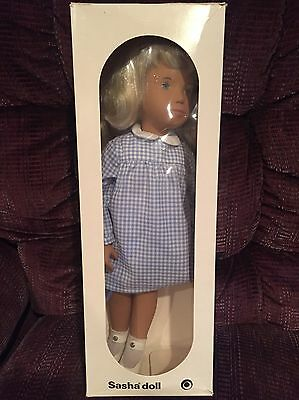 Sasha Doll Blonde Gingham Dress 107 Made In England