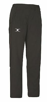 New Ex Display Gilbert Rugby Womens Synergie Trousers Black Size 14