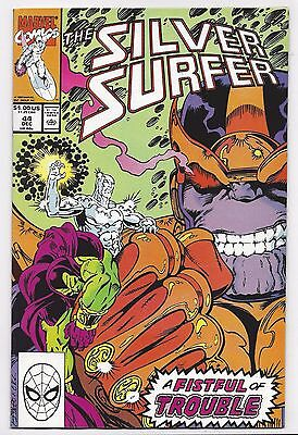 Silver Surfer #44 - 1St Appearance Infinity Gauntlet Thanos (1990)