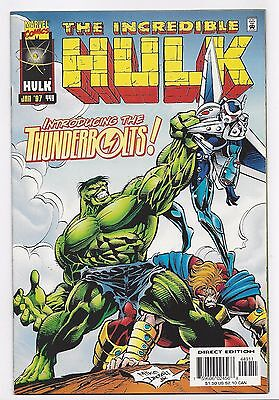 Incredible Hulk #449 - 1St Appranrance Thunderbolts (1997)