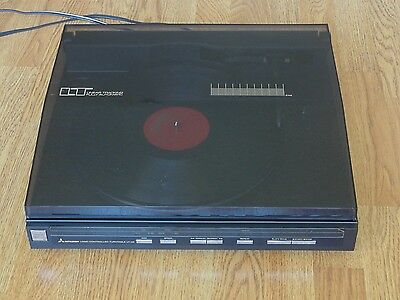 Vintage Mitsubishi Direct Drive Linear Tracking Turntable LT-46