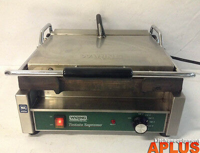 Waring Sandwich Grill Panini Press Smooth Model Wfg250