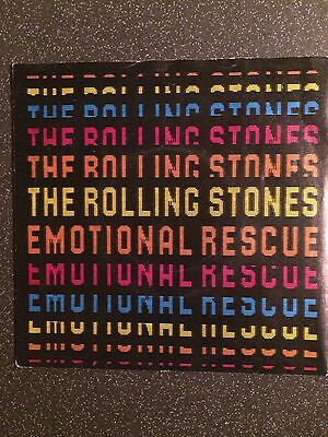 "The Rolling Stones - Emotional Rescue - UK 7"" Single - Classic Rock"