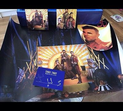 Take That Wonderland Exclusive Super Deluxe Boxset Signed Element From The Band