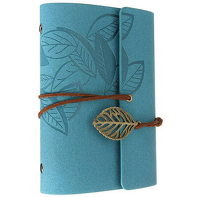 Diary notebook vintage style leather G8Y9