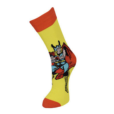 Marvel Official Thor Yellow Socks