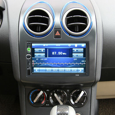 """7.0"""" 2 DIN Bluetooth Touch Screen Autoradio Stereo Player MP5 FM Aux USB SD TF"""