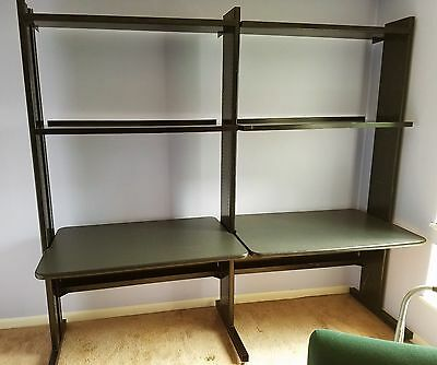 Modular Desk / Workbench and Shelving System - easy to assemble