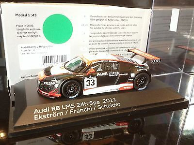 Audi R8 LMS Ultra 1/43  - 24H Spa 2011 -  #33  - Audi  Collection