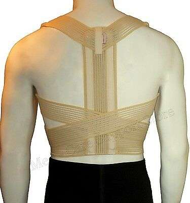 NEW Posture Corrector Brace / Orthopaedic UPPER Back Support Lumbar Belt Medical