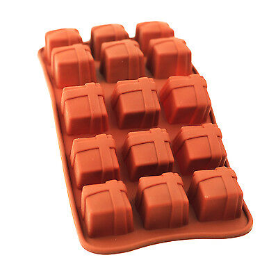 Silicone Chocolate Mould Tray Round Icing Craft Cake Jelly Baking Ice Gift Box