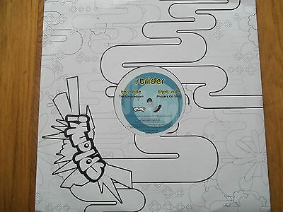 "Strider - Phazers On Stun / The Breakdown 12"" Record - Splank Records - Ukspl017"